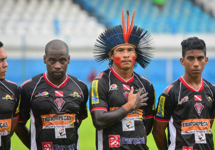 Equipe de football indienne Gavião Kyikatejê Futebol Clube