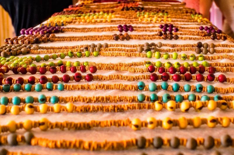 Les bijoux en perles d'açaï