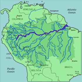 L'Amazone, le plus grand fleuve du monde