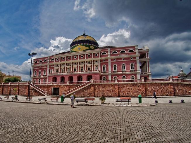 Opéra dans le centre de Manaus