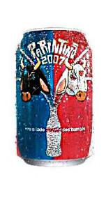 fête coca cola lata