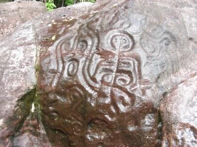 Pétroglyphe Parc National du Jau